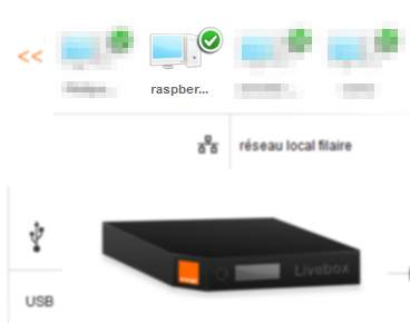 Raspberry Livebox IP