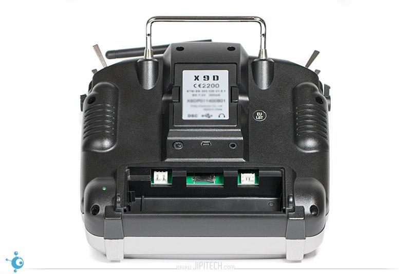 FrSky Taranis X9D Plus - Face arrière