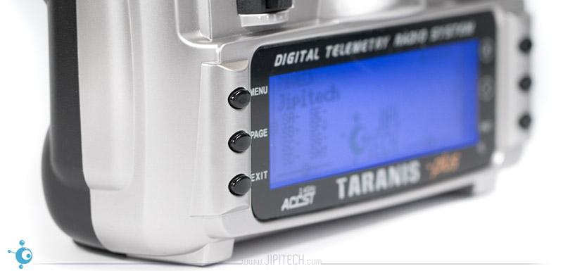 FrSky Taranis X9D Plus - Boutons écran